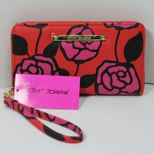 Betsey Johnson Wristlet Wallet